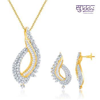 Sukkhi Elegant Choki Gold and Rodium pla