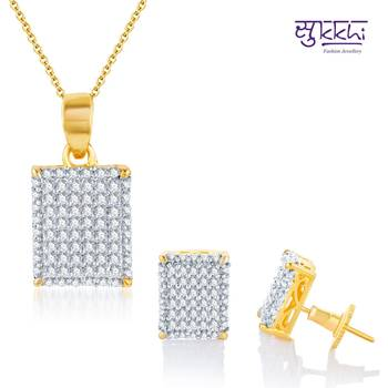 Sukkhi Attractive Gold and Rodium plated