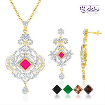Sukkhi Gold and Rodium plated 4 set of C