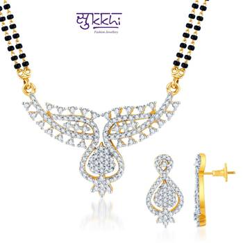 Sukkhi Marvelous Gold and Rhodium plated
