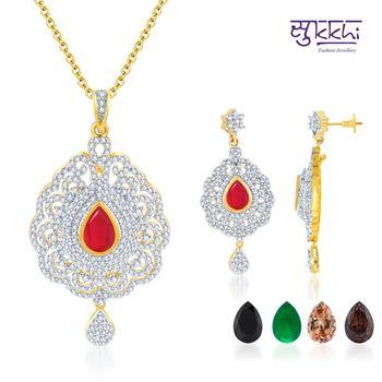 Sukkhi Intricately Crafted Gold and Rodi