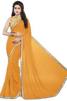 f176ee2902 Chiffon Sarees Online | Plain Chiffon Sarees | Buy Pure शिफॉन ...