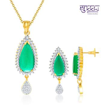 Sukkhi Well Crafted Gold and Rodium plat