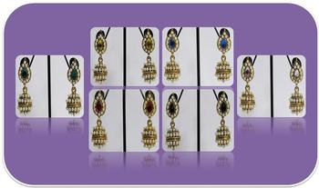 Bumper Offer Of 6 Set Of Small Jhumka Earring
