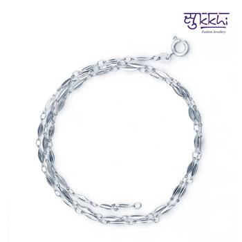 Sukkhi Rodium plated chain