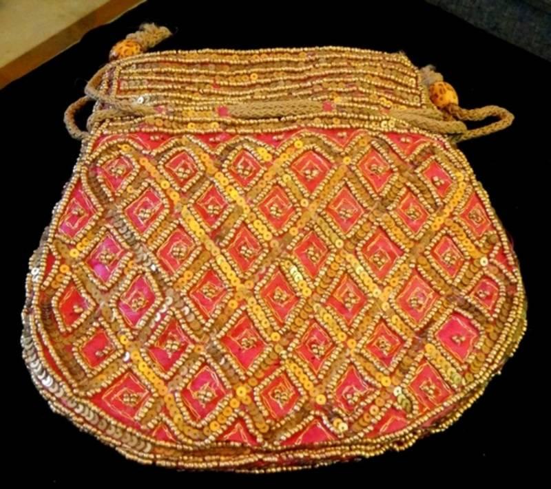 Buy Ethnic Traditional Beaded Zari Sequins Wedding Return Gift Potli
