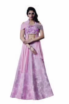 6e346448696 Pink Crop Top Lehengas - Buy Pink Crop Top Lehengas Online at Best ...