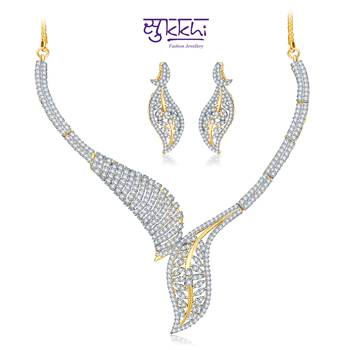 Sukkhi Gold  and Rodium plated Classic