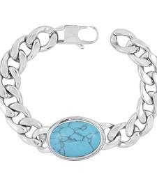 Silver metallic bracelets