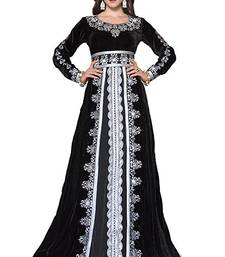Black georgette embriodery islamic kaftans