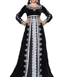 Buy Black georgette embriodery islamic kaftans islamic-kaftan online