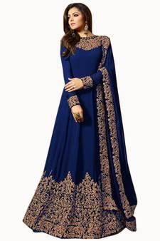 4331d9934 Semi-Stitched Suits Designs - Buy Semi Stitched Salwar Suits Online ...