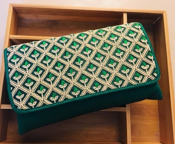 Embroided Designer Clutches