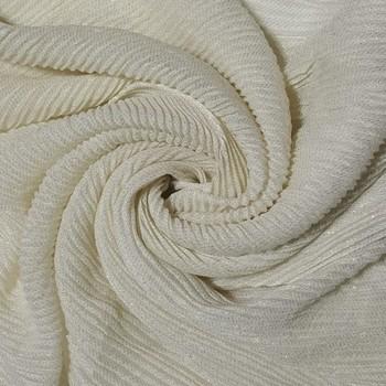 White cotton designer hijab stole for women