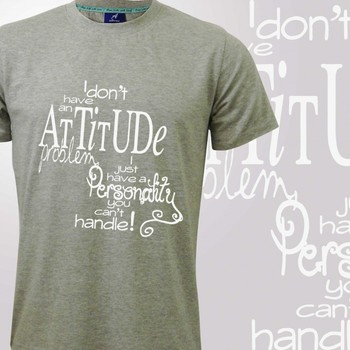 My Attitude Mens T-shirt