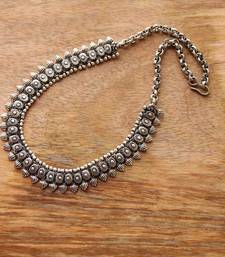 Buy Oxidized silver necklace Necklace online