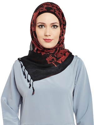 Multicolor Viscose Islamic Hijab Head Scarf