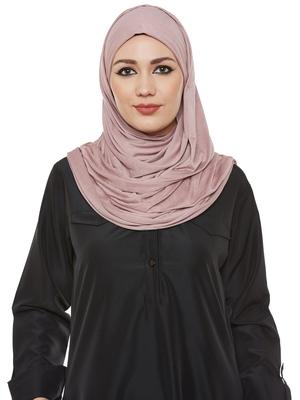 Light Pink Viscose Islamic Hijab Head Scarf