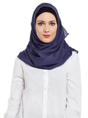 Violet Cotton Islamic Hijab Head Scarf