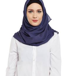 Violet Cotton Islamic Hijab Head Scarf