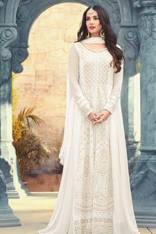 9c808af74f7b White Salwar Kameez - Buy White color Salwar Suits Online