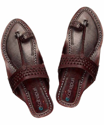 7d48a41d5993f4 handmade authentic genuine leather Awesome looking ladies flip flop sandal  for women