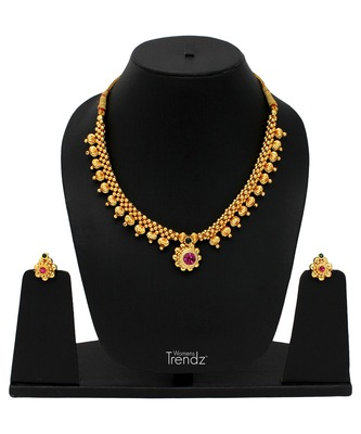 Handmade Traditional Ethnic And Antique Gold Plated Jewellery