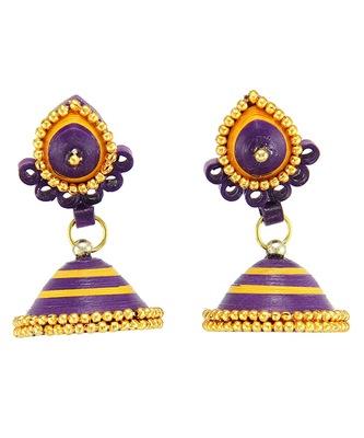 Multicolor Crystal plain Earrings