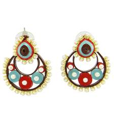 Multicolor Crystal plain Earrings
