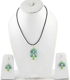 Multicolor Crystal Plain Pendants