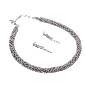 Crystal Party Wear Necklace Set