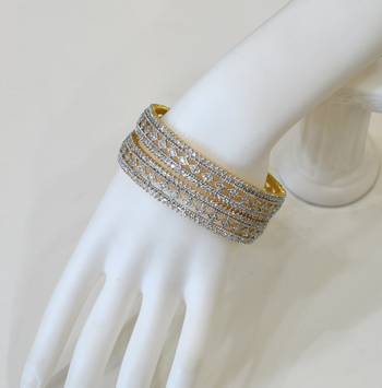 Traditional Diamond Bangles