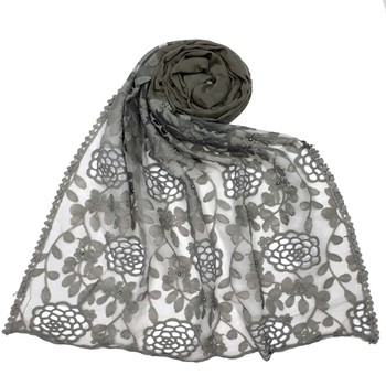 Grey Cotton Islamic Hijab
