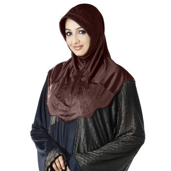 Coco Poly Cotton Ready To Wear Islamic Hijab
