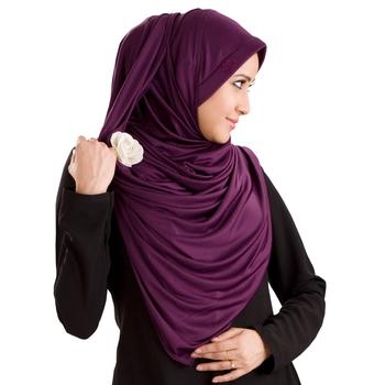 Vine Poly Cotton Ready To Wear Islamic Hijab