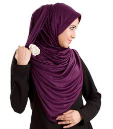 Vine Poly Cotton Ready To Wear Islamic Hijab
