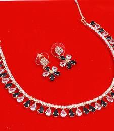 Buy Multicolor ruby chokers choker online