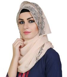 Momin Libas Embroidered Cotton Girls Scarf
