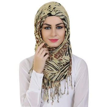 Momin Libas Printed Viscose Girls Scarf