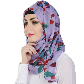 Momin Libas Printed Polyester Cotton Girls Scarf