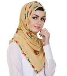 Buy Momin Libas Embroidered Chiffon Girls Scarf hijab online