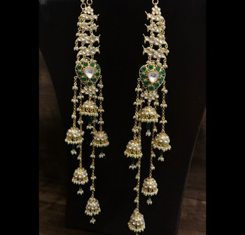Sonam Kapoor Veere di Wedding Long Jhumki Earrings