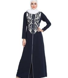 Black Plain Nida Islamic Abaya