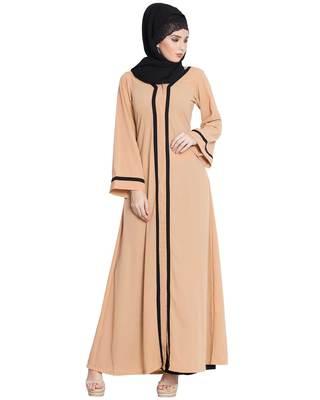 Sand Plain Nida Islamic Abaya