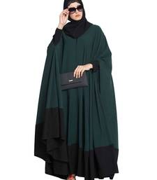 Green Plain Nida Islamic Abaya