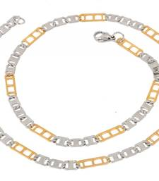 mens stainless steel black silver italian designer links cha