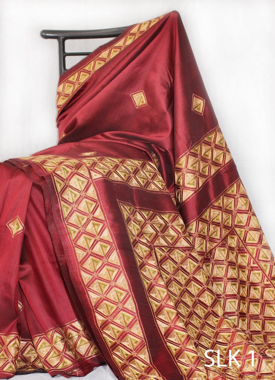 Blouse Work Designs For Silk Sarees