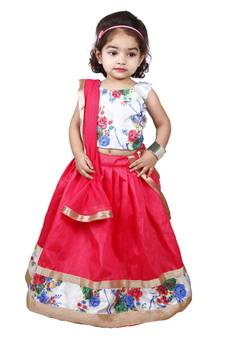 Outfits & Sets Beautiful Youth Girl Red Size 6 Pink Top A Great Variety Of Models