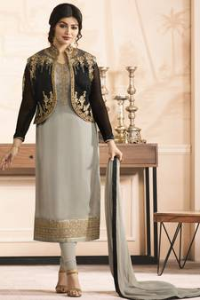 69ea9f7a36 Ayesha Takia Salwar kameez Suits Online @ Mirraw Celebrity Shopping