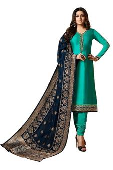 Straight Suits Buy Straight Salwar Suits For Party Wear Online